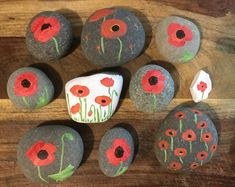 Welcome to Northeast Ohio Rocks! We are the largest community based rock painting group in the World with an. Poppy Craft For Kids, Art For Kids, Crafts For Kids, Wreath Crafts, Craft Stick Crafts, Felt Crafts, Remembrance Day Activities, Remembrance Day Poppy, Butterfly Crafts