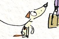 The Reluctant Dragon - Fred Blunt Illustration