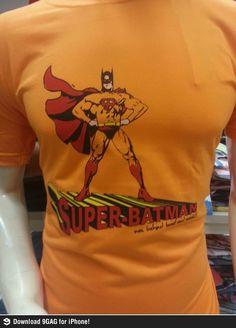 Super-Batman in India