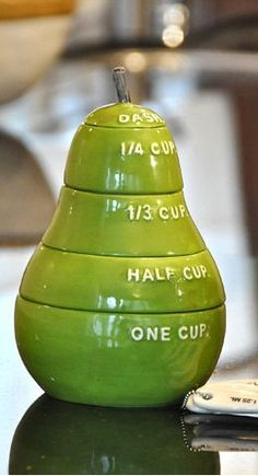 Pear Measuring Cups ♥