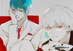 Tsukiyama x Kaneki Tokyo Ghoul