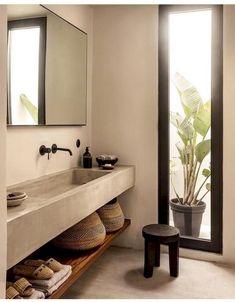 70 Gorgeous Studio Apartment Bathroom Remodel Ideas - Home Dekor Bathroom Design Inspiration, Bad Inspiration, Furniture Inspiration, Interior Inspiration, Home Interior, Bathroom Interior, Design Bathroom, Interior Colors, Interior Paint