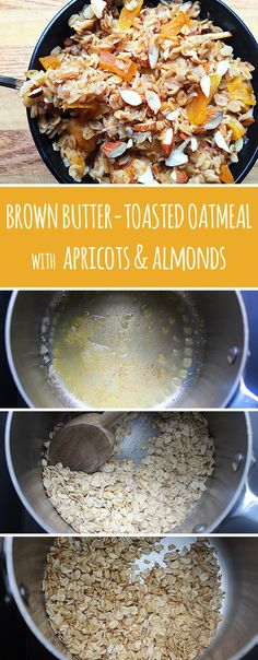 Toast your oatmeal in a little bit of butter before adding liquid. | 13 Insanely Clever Oatmeal Tricks You Need To Try