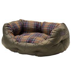 Barbour pooch bed, £60 John Lewis