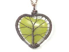 wire tree of life heart
