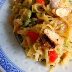Spaghetti Squash Pad Thai Allrecipes.com