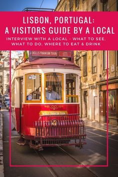 Tips for travel in Portugal! The best things to do in Lisbon Portugal. The food beaches nightlife restaurants shopping markets architecture trams Get visitor information from a local as part of my city guide regular feature Interview with a local Visit Portugal, Portugal Travel, Spain And Portugal, Portugal Trip, Algarve, Azores, Lisbon City Break, Fatima Portugal, Dubai