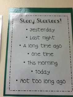 Ms.M's Blog: tips for helping kids with beginning, middle and end when writing stories or journaling for school