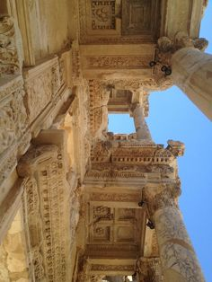 Bibliothek in Ephesus / Turkey