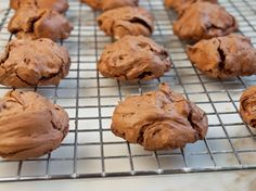 RECIPES YOU MAY LIKE TO TRY: Fudgy Double #Chocolate Meringues (#Gluten Free)