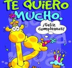 Frases, chistes, anécdotas, reflexiones y mucho más.: frases y tarjetas de cumpleaños. Te quiero mucho ¡feliz cumpleaños!