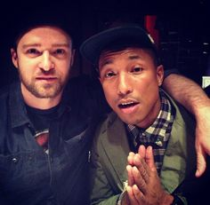 Justin Timberlake in Studio Working on 'The 20/20 Experience Part 2′
