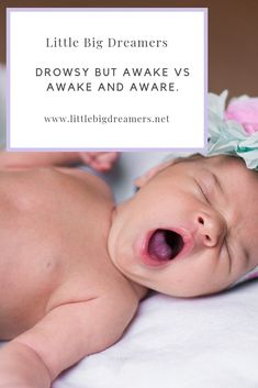 There are different ages and stages where we use drowsy but awake and awake and aware.  Learn what each of them means and when you should use them.