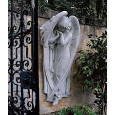 Park Avenue Collection Large Santa Croce Angel Frieze