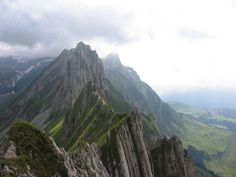 Hike from Santis to Ebenalp - Appenzell Alps, Switzerland