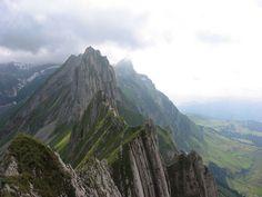 Hike from Santis to Ebenalp - Appenzell Alps, Switzerland