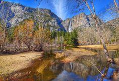 Yosemite Falls Winter 2016