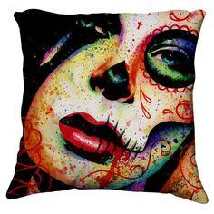 Dead Inside Pillow Cover