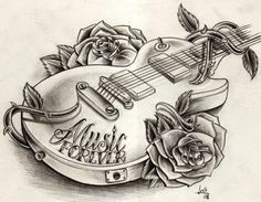 I really hope to get a guitar soon and then I'll draw this