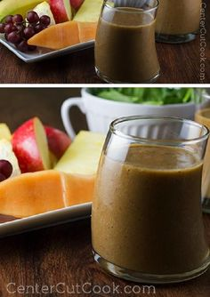Chock full of fruits AND veggies, this smoothie may not look pretty, but it's certainly good AND good for you! PERFECT SMOOTHIES!