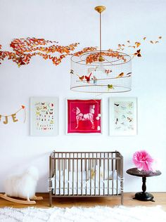 Chic Kids' Rooms. A Whimsical Nursery. Interior Designer: Jenni Kayne.