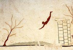 La Tomba del zambullidor a Paestum (480-470 aC)