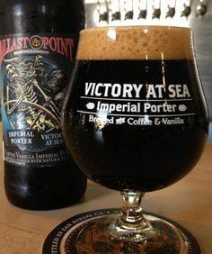 Ballast Point 'Victory At Sea' - Coffee Vanilla Imperial Porter.