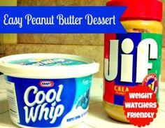 Easy Peanut Butter Dessert 2WWPP
