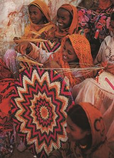 See the World Through Pattern and Colour, Basket Weaving Cultures Du Monde, World Cultures, We Are The World, People Around The World, African Culture, African Art, Africa Craft, Munier, Horn Of Africa