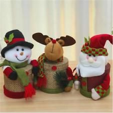 Candy Gift With Decoration Eve Round Christmas Sundries Box Christmas Box Doll , Elf Christmas Decorations, Easy Christmas Ornaments, Christmas Gift Box, Christmas Candy, Christmas Snowman, Simple Christmas, Kids Christmas, Christmas Crafts, Tree Decorations