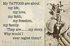 New Skin Art Tattoo Quotes Ideas Tattoo Memes, 4 Tattoo, Tattoo Life, Get A Tattoo, Tattoo Quotes, Quotes About Tattoos, Venom Tattoo, Gold Tattoo, Blue Tattoo