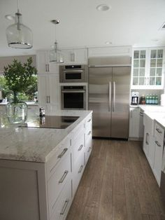 ✓ 30 Stunning White Farmhouse Kitchen Designs Ideas - Page 15 of 30 - Best Home Decor Kitchen On A Budget, New Kitchen, Kitchen Decor, Kitchen White, Kitchen Ideas, White Cabinet Kitchen, Awesome Kitchen, Kitchen Layout, White Farmhouse Kitchens