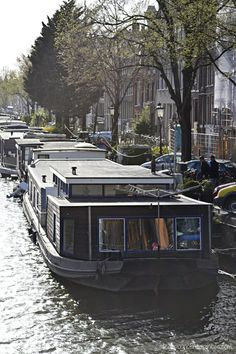 our houseboat in Amsterdam - ateaspoonofhappiness.com