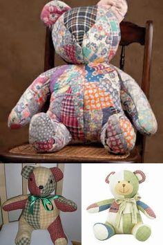 memory bear pattern free - Bing images