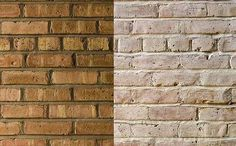 Let me whitewash a little? Decorating options for face brick homes