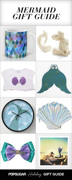 26 Mermaid Gifts For Aspiring Ariels In case anyone needs gifts ideas for me ;)