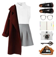 """#144th"" by firaaaa ❤ liked on Polyvore featuring moda, Glamorous, T By Alexander Wang, Givenchy i Linda Farrow"