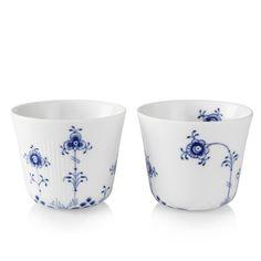 Royal Copenhagen Blue Elements Multi cups 25 cl, 2-pack
