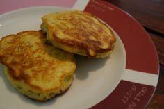 Gluten-free, dairy-free, sugar-free potato pancakes.