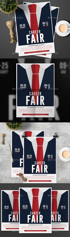 Career Fair Flyer Psd templates, Career and Flyer template - examples of a flyer