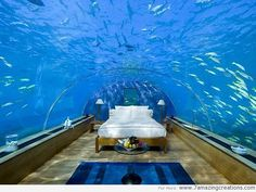 Aquarium Designs in Your Bedroom Interior