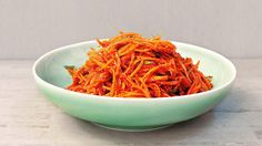 Carrot kimchi (tanggun) | Kimchi goes international. This kimchi seems to be very popular in Russia, at least it is often requested by Russian tourists who visit Arirang. The carrots can also be eaten without leaving them to ferment, but of course you'll then get a whole different flavour.