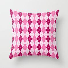 Argyle Throw Pillow