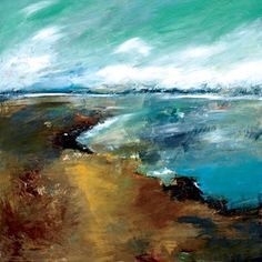 Paintings by Christopher Mathie at White Bird Gallery in Cannon Beach, Oregon