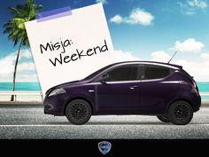 Spakuj swój bagaż i wyrusz na zasłużony odpoczynek po całym tygodniu. Lancia Ypsilon Elefantino Cię dowiezie, niezależnie od celu.
