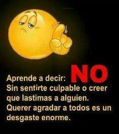 Aprender a decir NO!