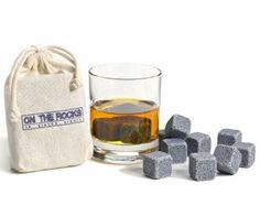 Pierres à whisky en granit : fini les glaçons artificiels.