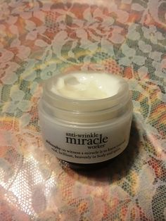 #antiwrinklemiracleworker Philosophy has this great product that I have seen awesome results with.  #FreeSample