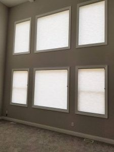 Cellular Window Shades In Sylvania Ohio Home