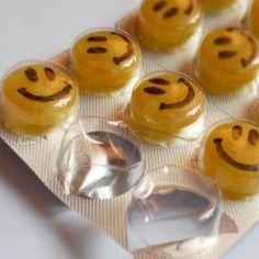 Happy pills :) - Será que resolv? Kkkkkkkk